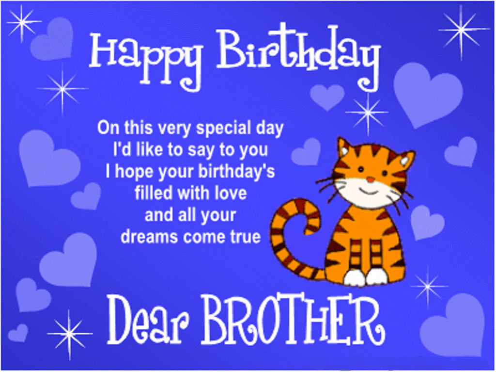 Birthday Sms Wishes For Brother Is your brother's birthday