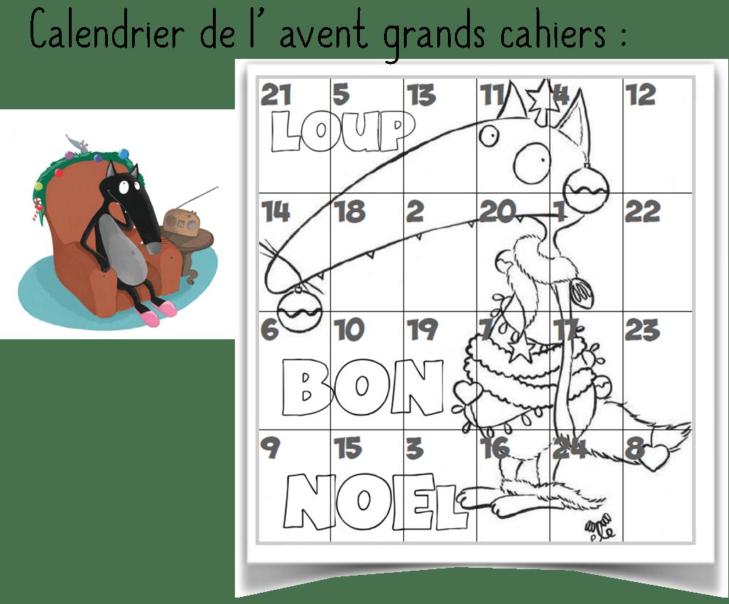 Calendrier De L Avent Loup