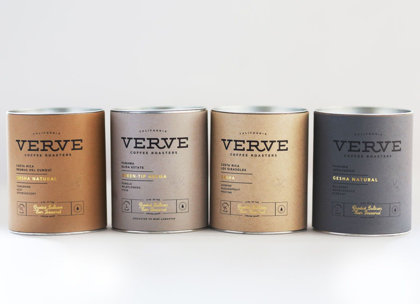 Verve Coffee's 2014 Gesha Set includes their renowned