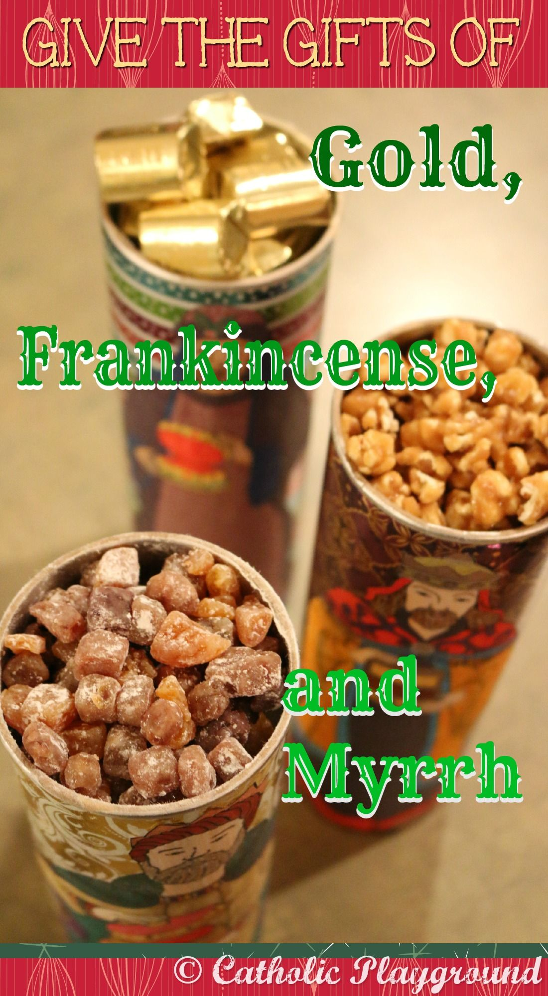 Edible Gold Frankincense And Myrrh Give The Ts Of