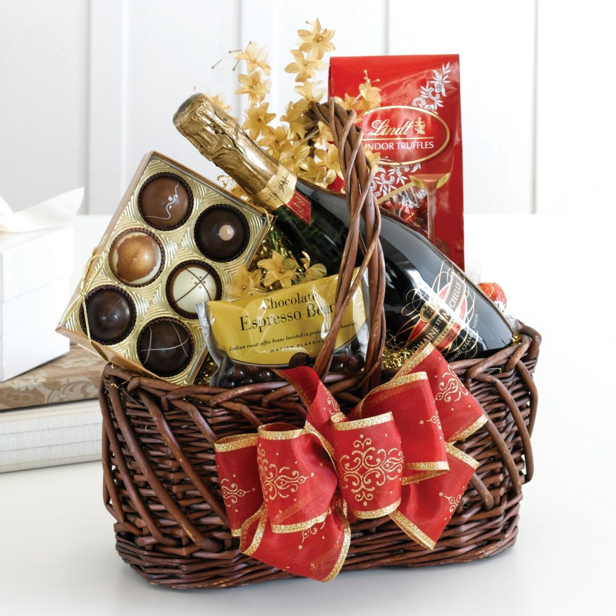 gift baskets with gourmet goodies is a good and a