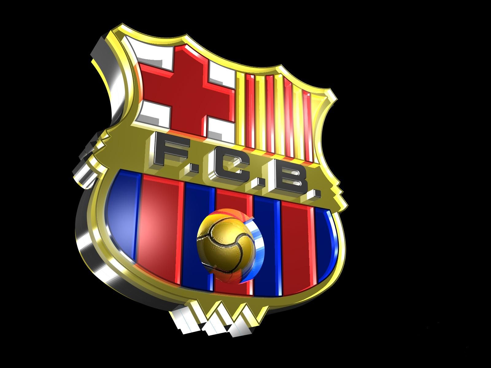 Barcelona Logo 3D Wallpaper Backgrounds http//wallucky