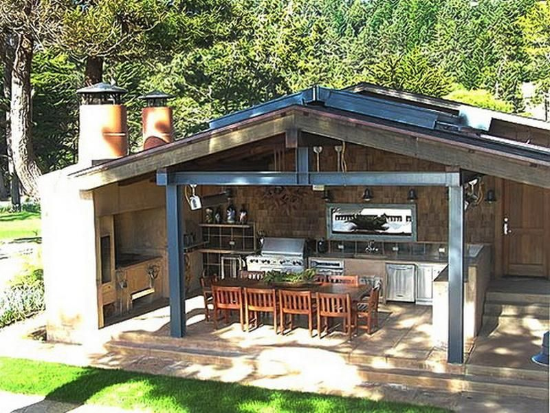 Rustic Outdoor Kitchen Images outdoor kitchen
