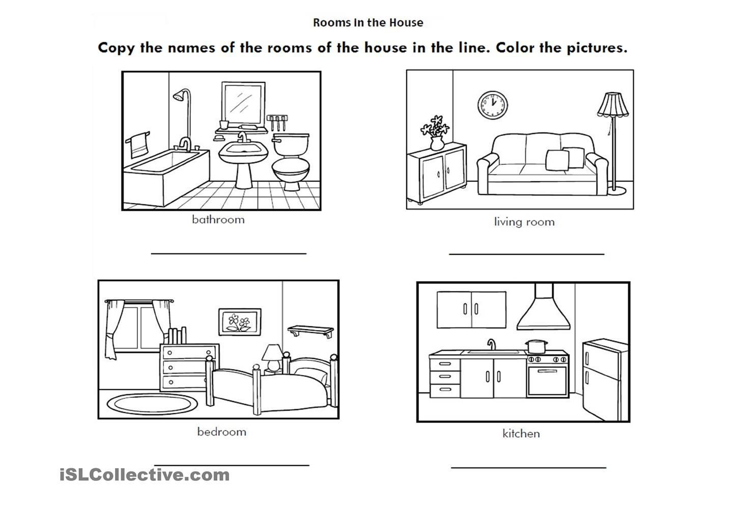 Worksheet About The White House