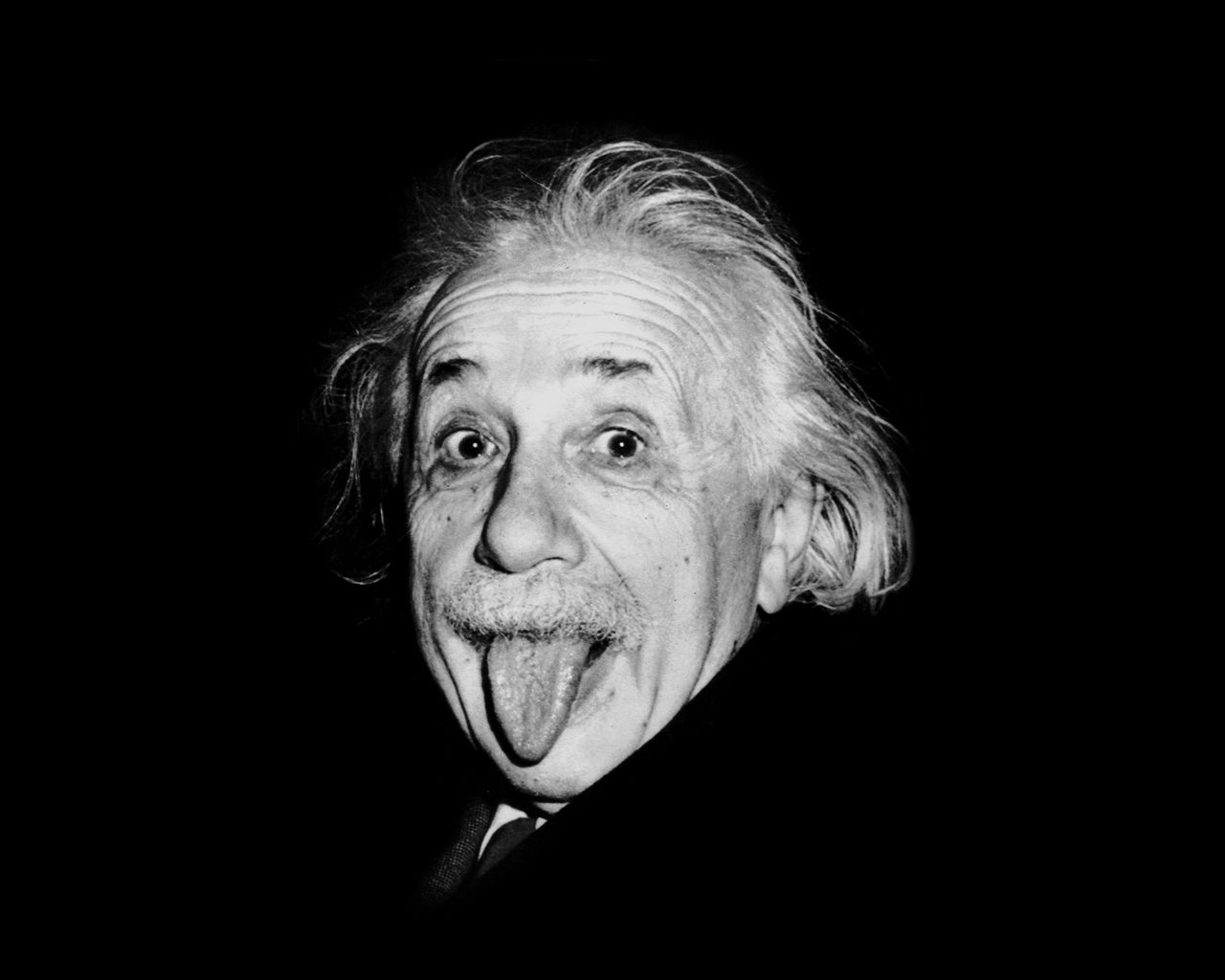 Einstein Is A Favorite Model For Depictions Of Mad