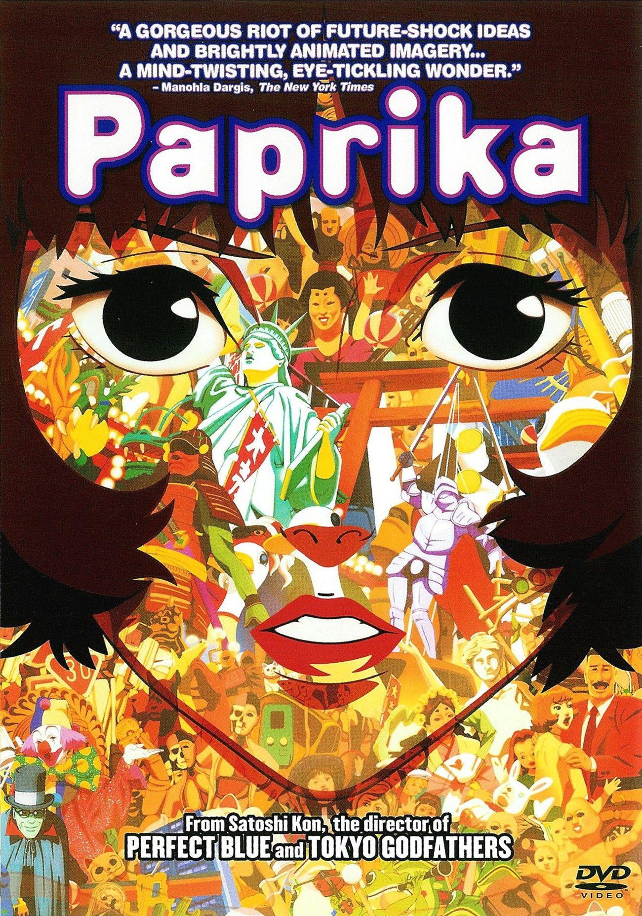 Satoshi Kon (2006) Paprika M99 movie film