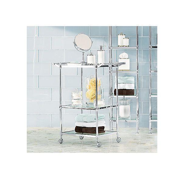 newbury rolling bath cart | bathroom | pinterest | bath, rust and