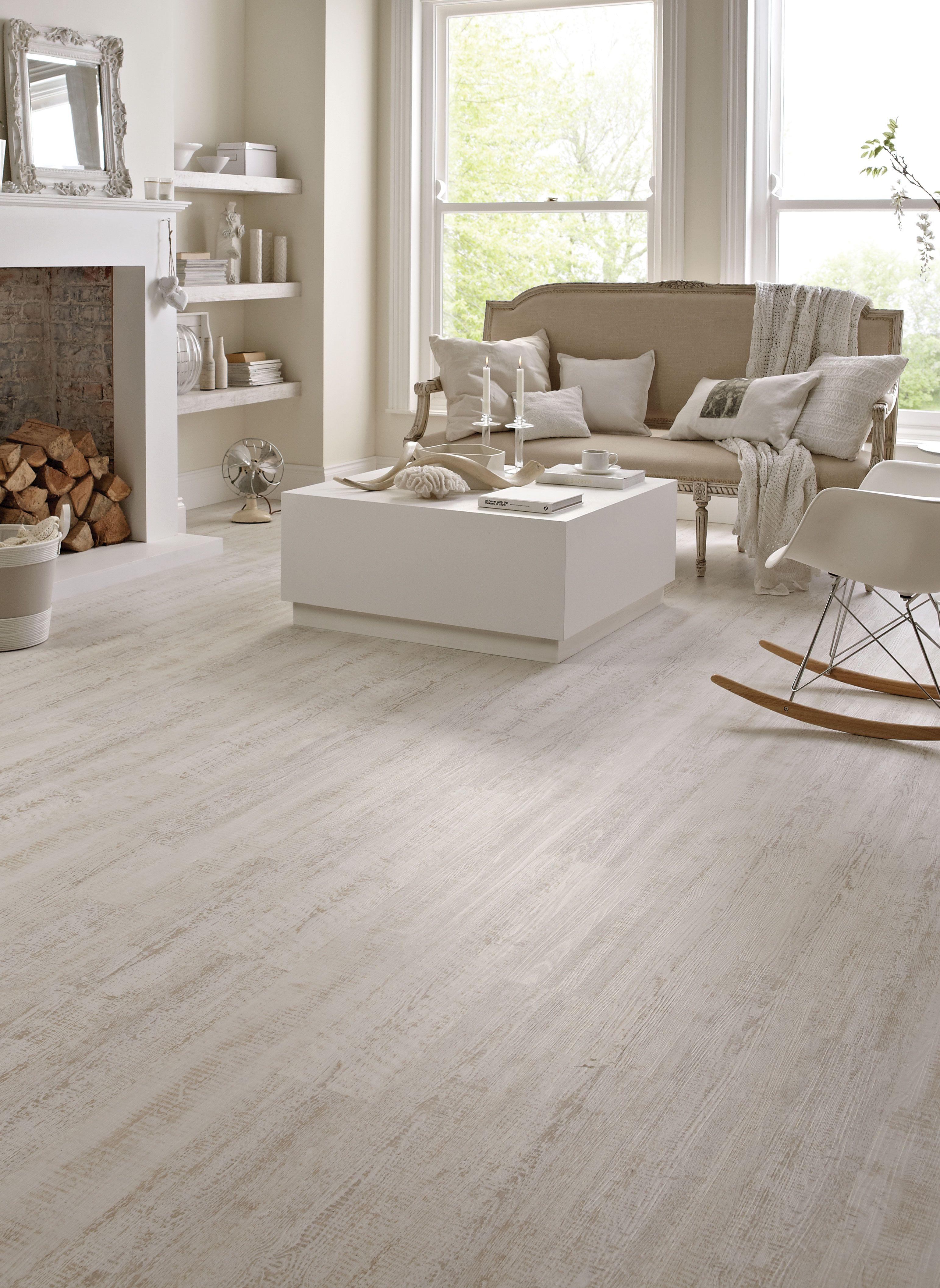 Karndean wood flooring White Painted Oak by