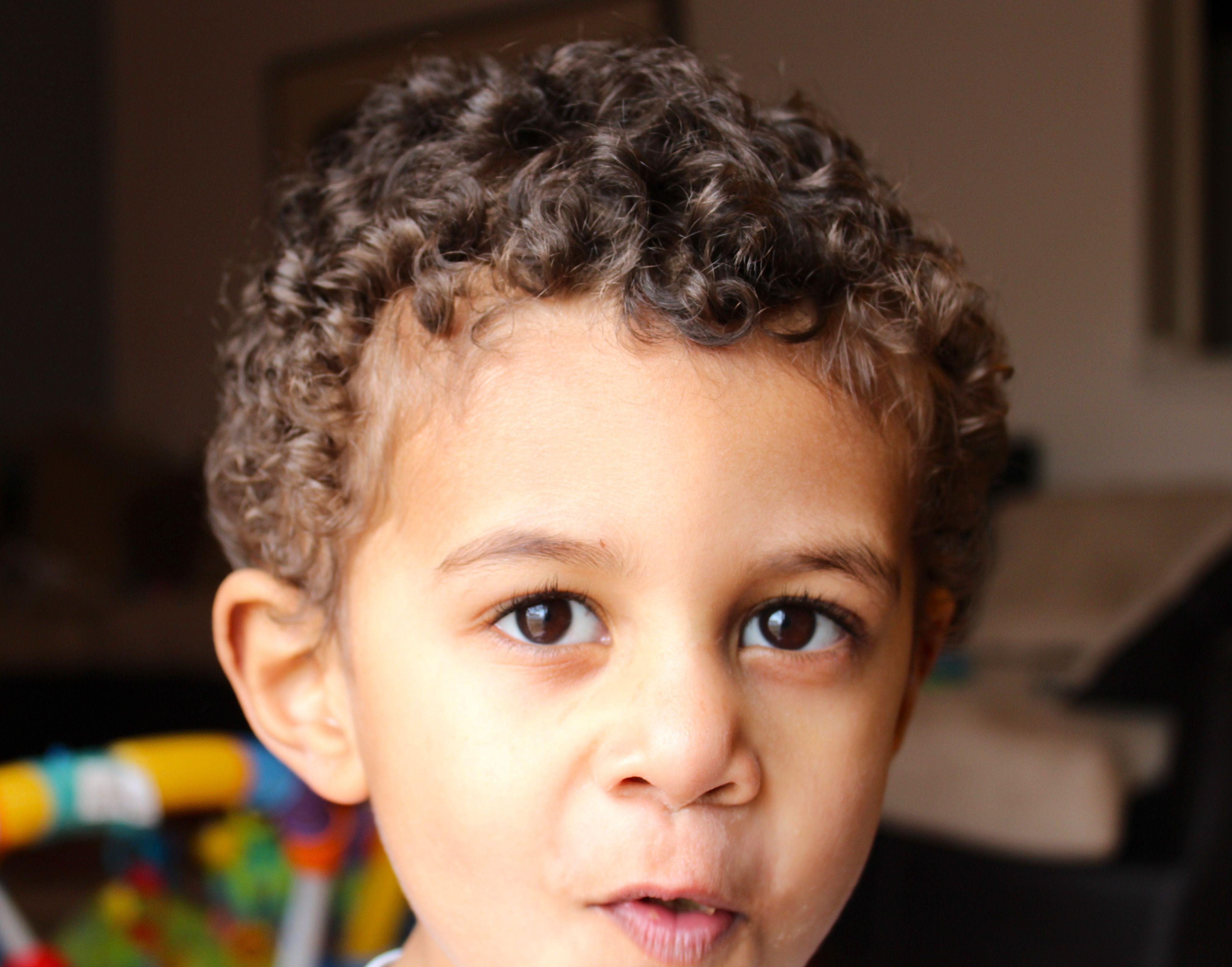 Curly boy Natural curly hair Pinterest Boy hair