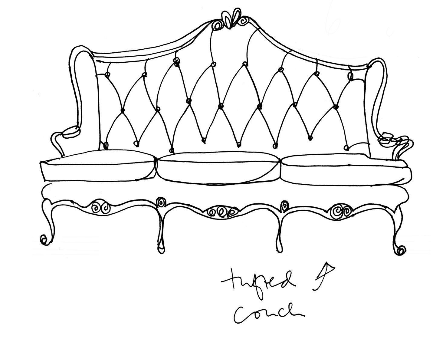 Chaise Couch Thingy