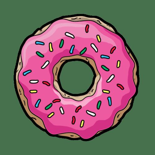 Cute Transparent Tumblr Donut tumblr Pinterest Free