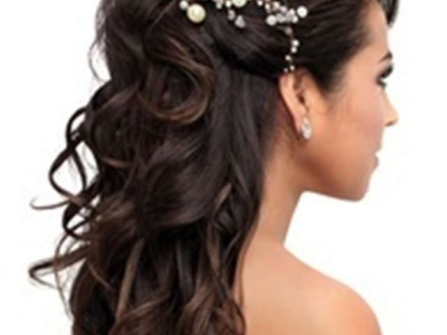 pretty quinceanera hairstyles for woman : simple hairstyle ideas