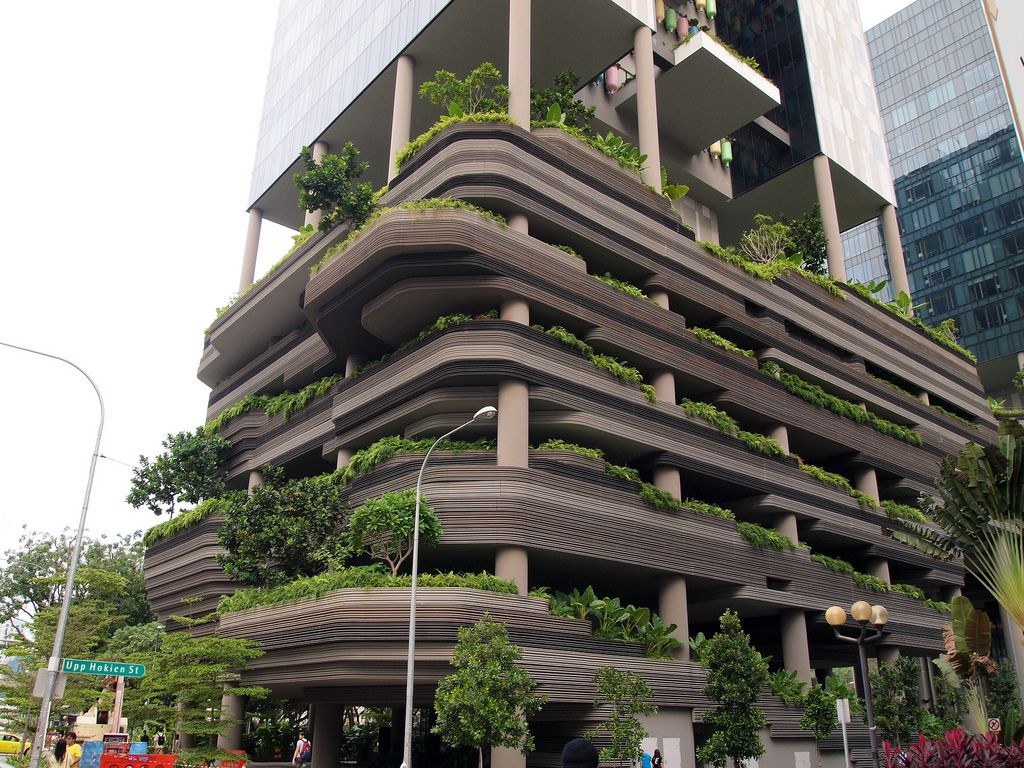 ParkROYAL on Pickering, Singapore, by WOHA. Singapore