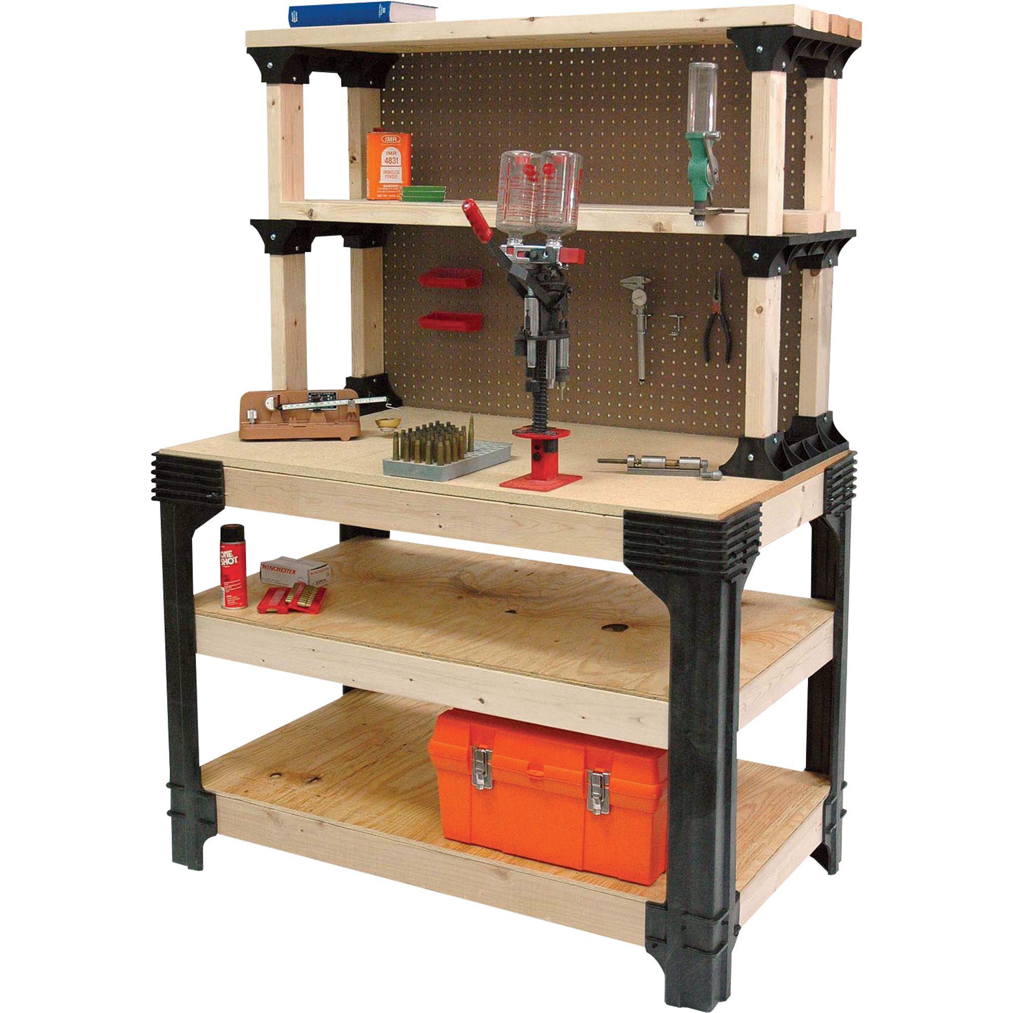 2x4 Basics AnySize Workbench Kit With ShelfLinks Model
