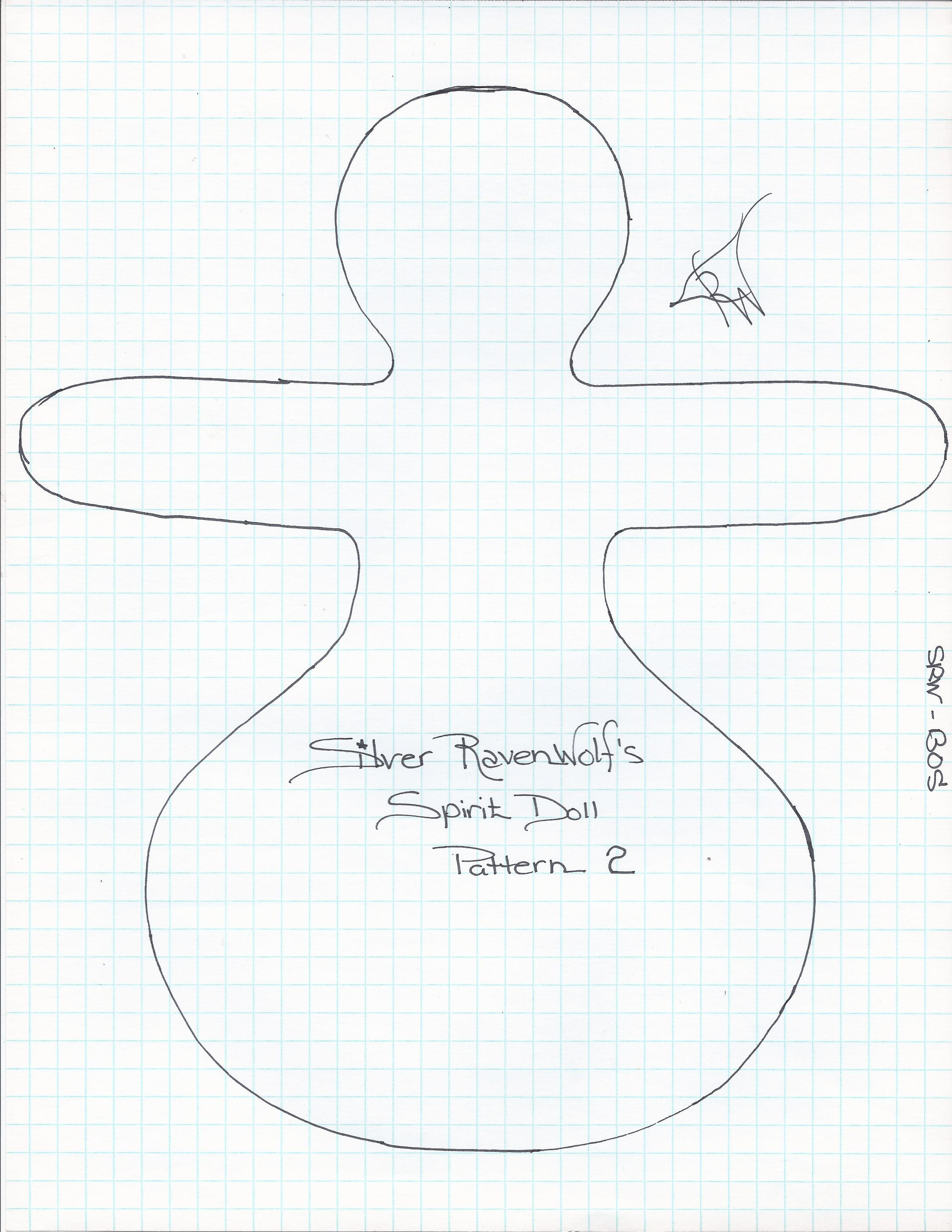 Silver Ravenwolf Spirit Doll Pattern 2