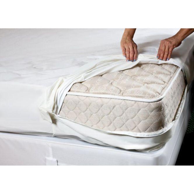 Complete Encaement Top Zipperd Bed Bug Waterproof Mattress Cover