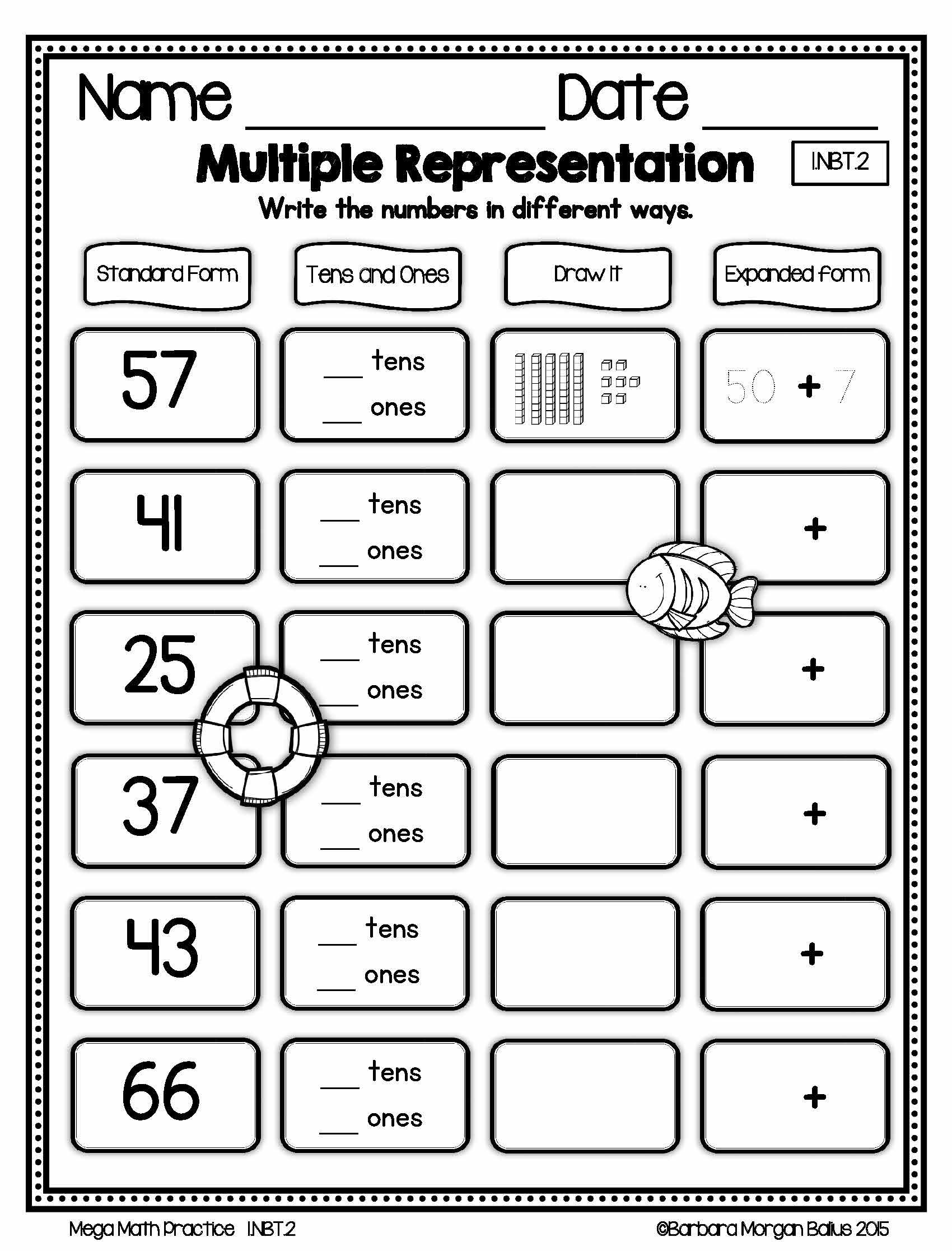 Worksheet Place Value Practice Grass Fedjp Worksheet