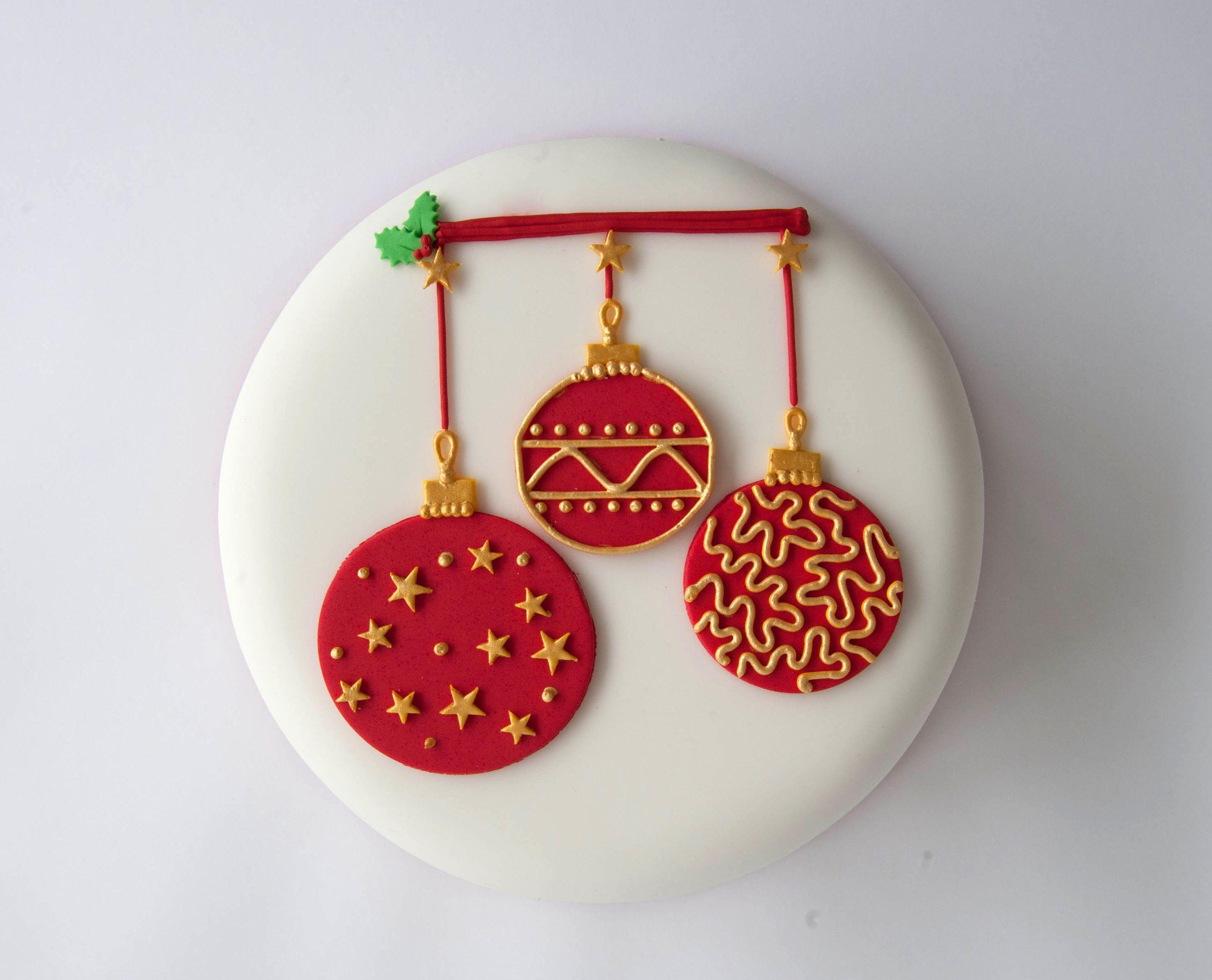 Day 1 Christmas Cake Decorating Decorating, Tutorials