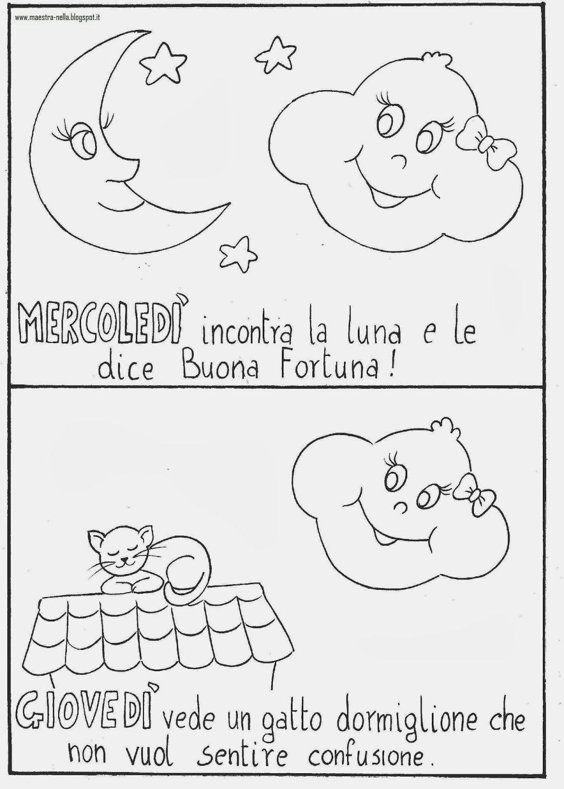 Maestra Nella La Settimana Della Nuvoletta Olga