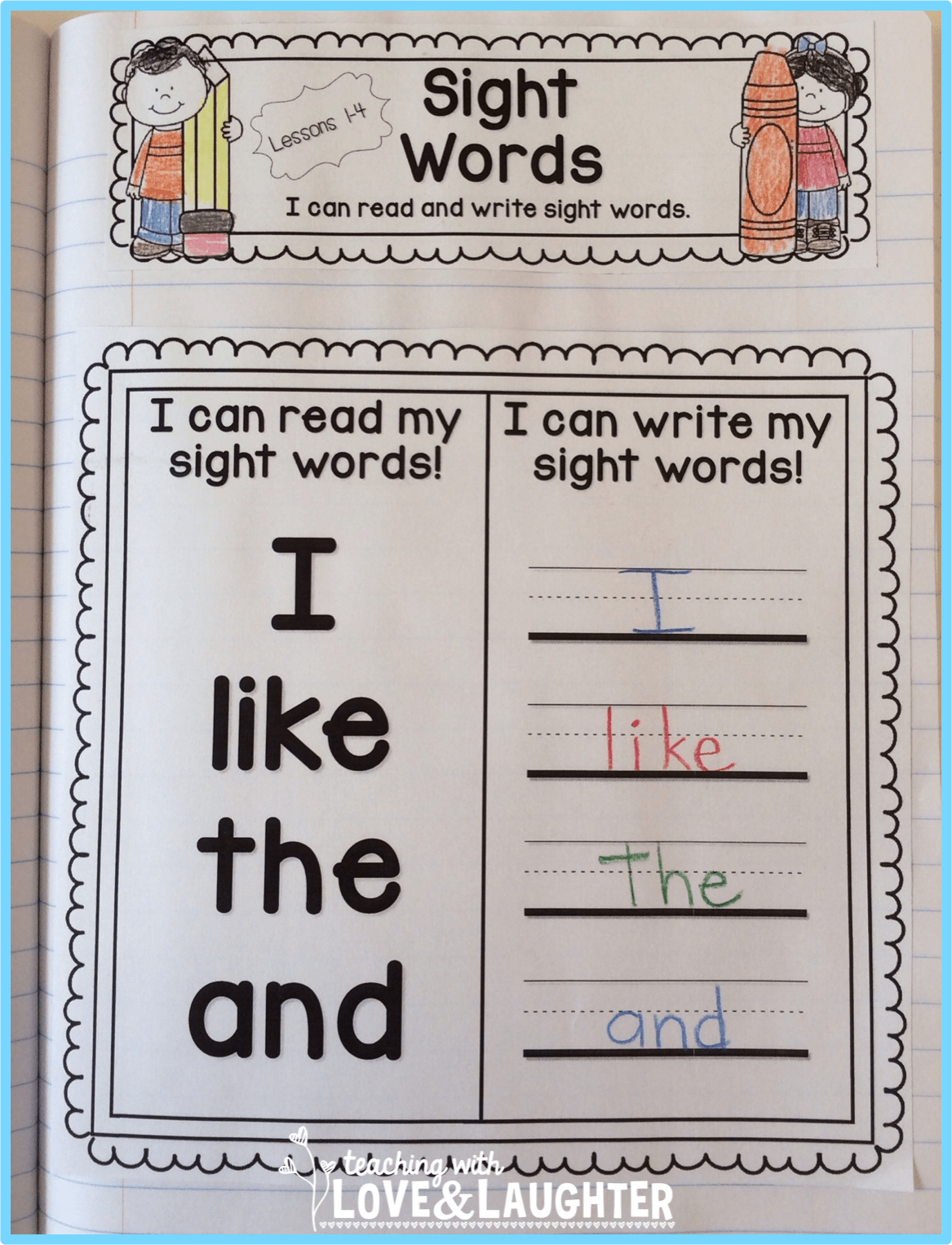 I Can Read Words Kinderland Collaborative Pinterest St Language Arts Preschool Reading