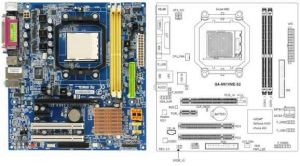 Gigabyte GAM61VMES2 Motherboard and Diagram   Technology