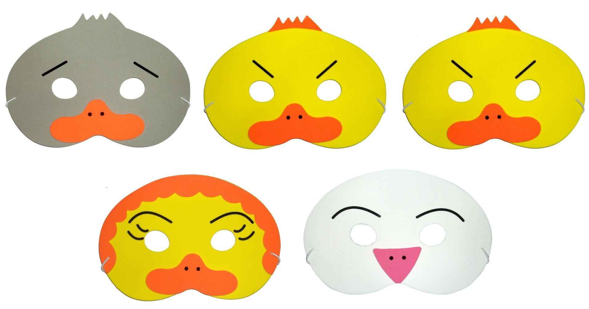 The Ugly Duckling Storytelling Masks