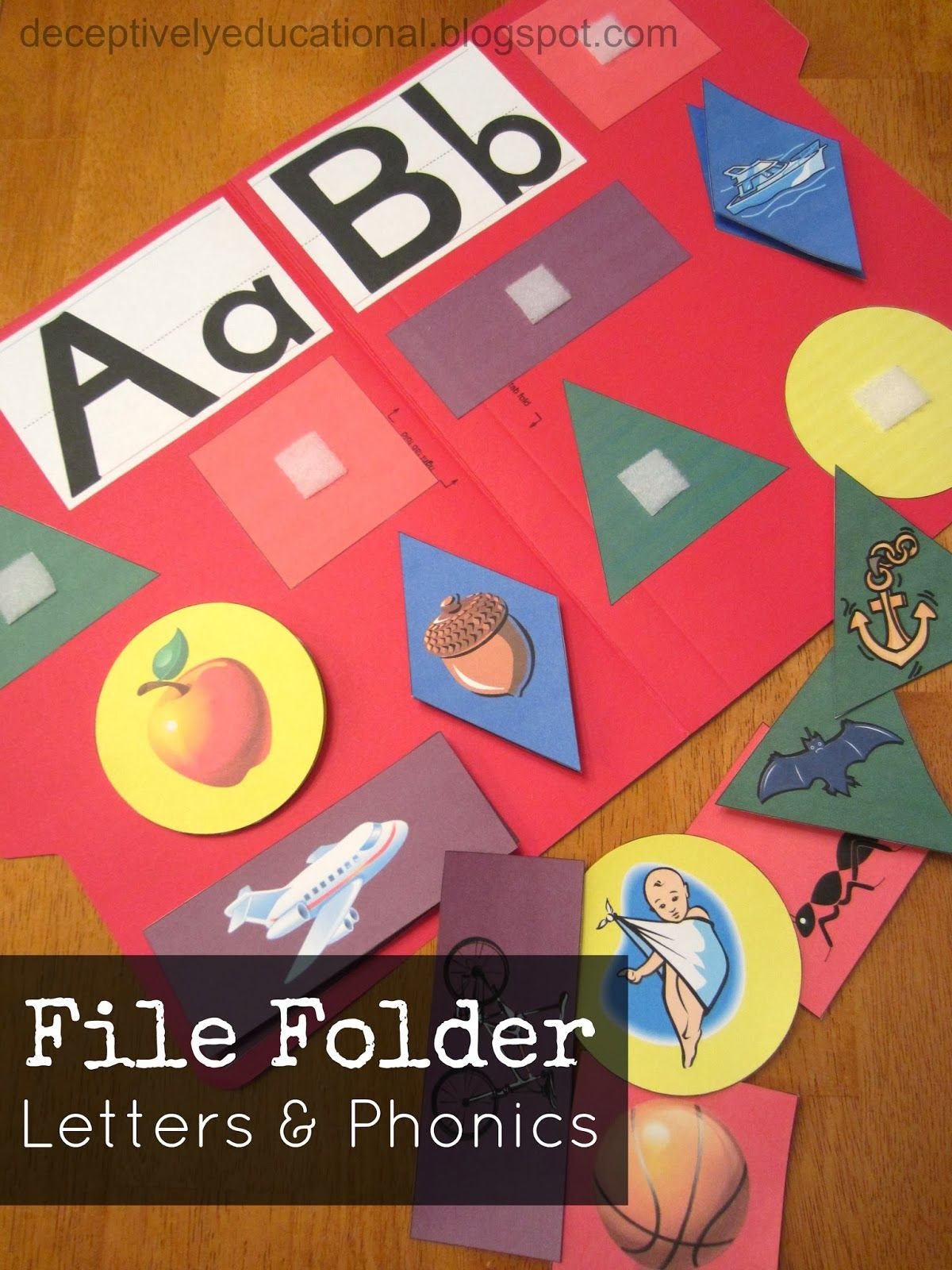 Relentlessly Fun Deceptively Educational File Folder Phonics And Letters