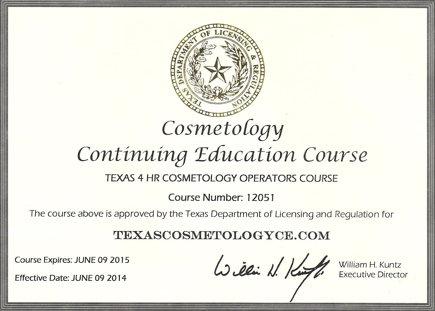 Middle Term Goal Receive my Cosmetology License. Tea's