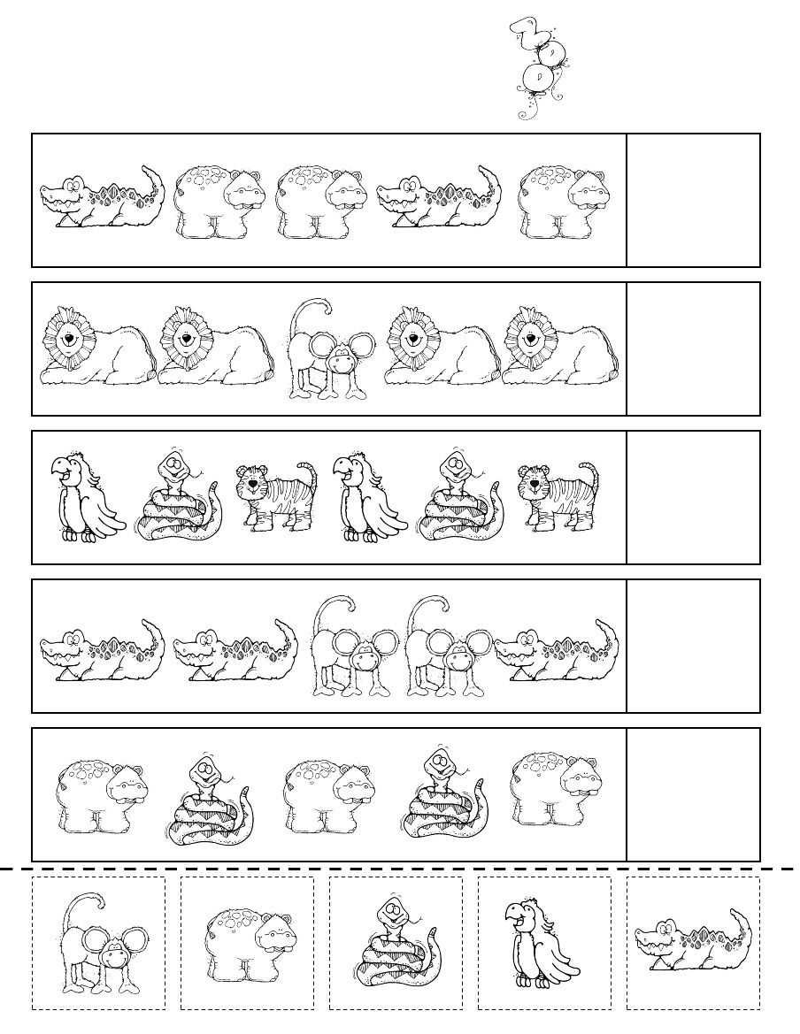 Zoo Patterns Scribd School Pinterest Zoos