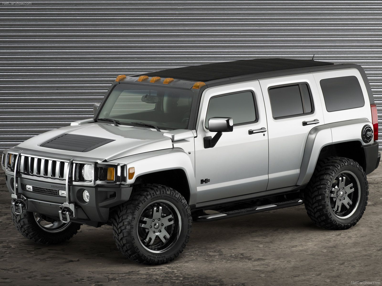 Hummer H3 Open Top Marty should do this to his
