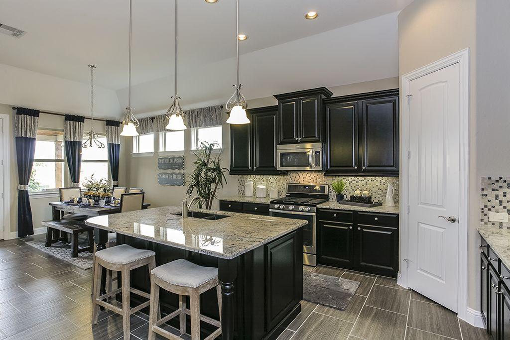 Gehan Homes Kitchen Black Light Granite