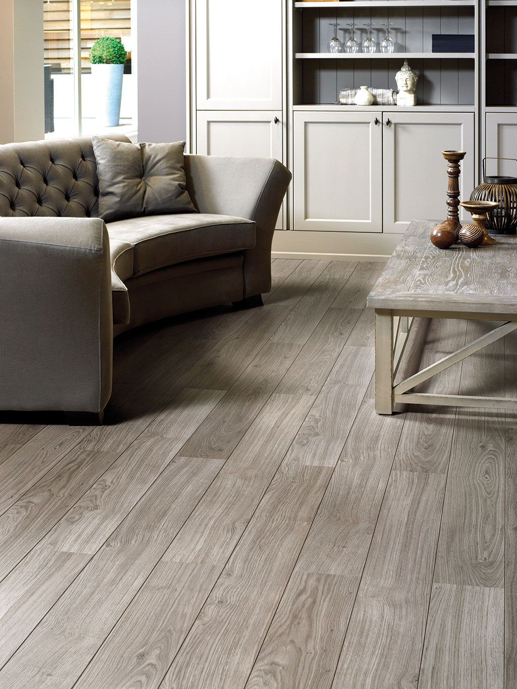 QuickStep Laminate Flooring Perspective 'Light grey