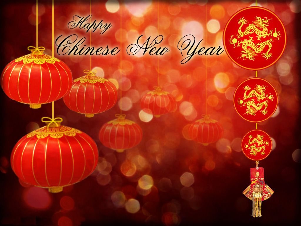 chinese new year with ornament lamp red | chinese new year cards