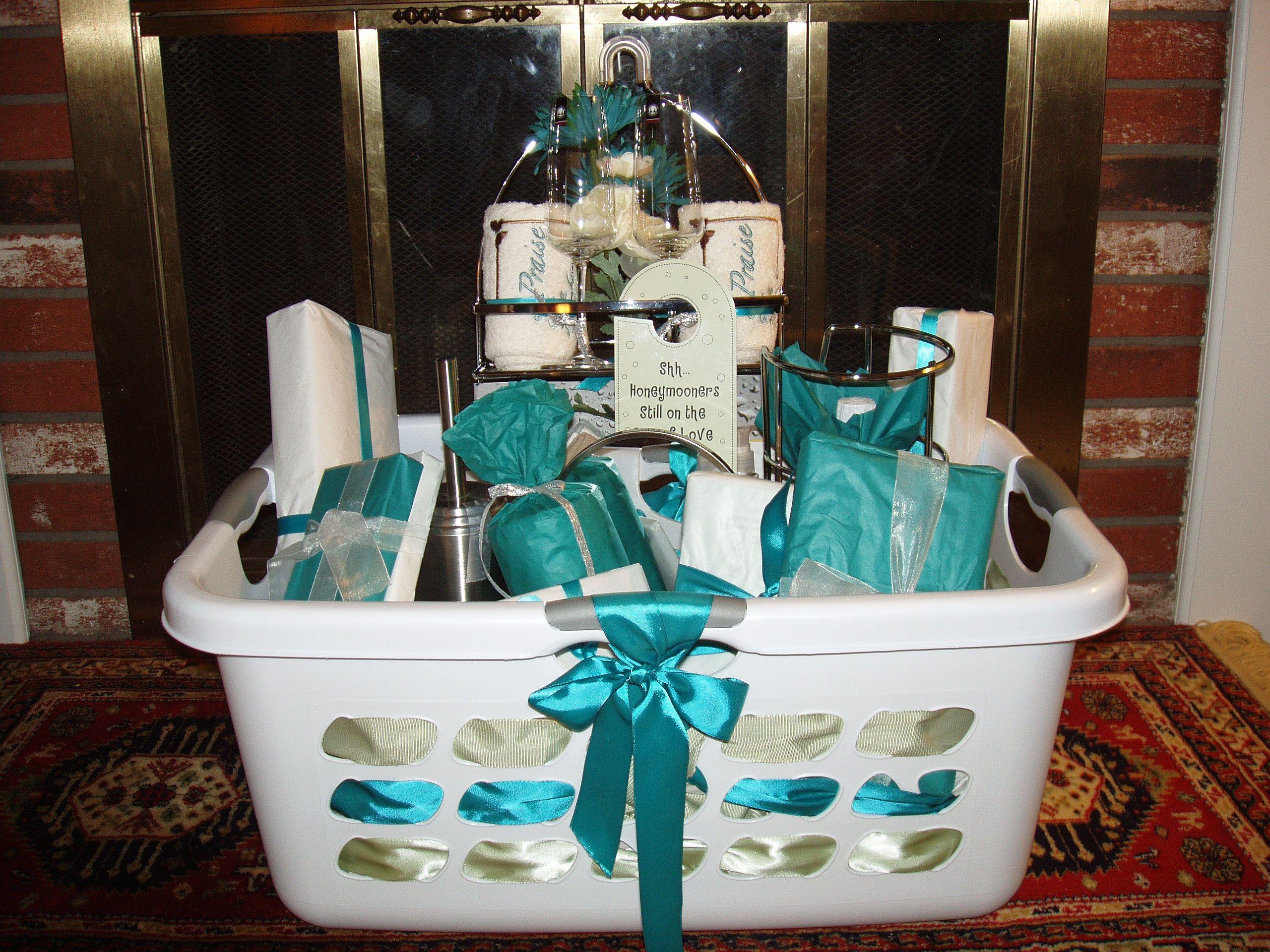Bridal Shower Basket