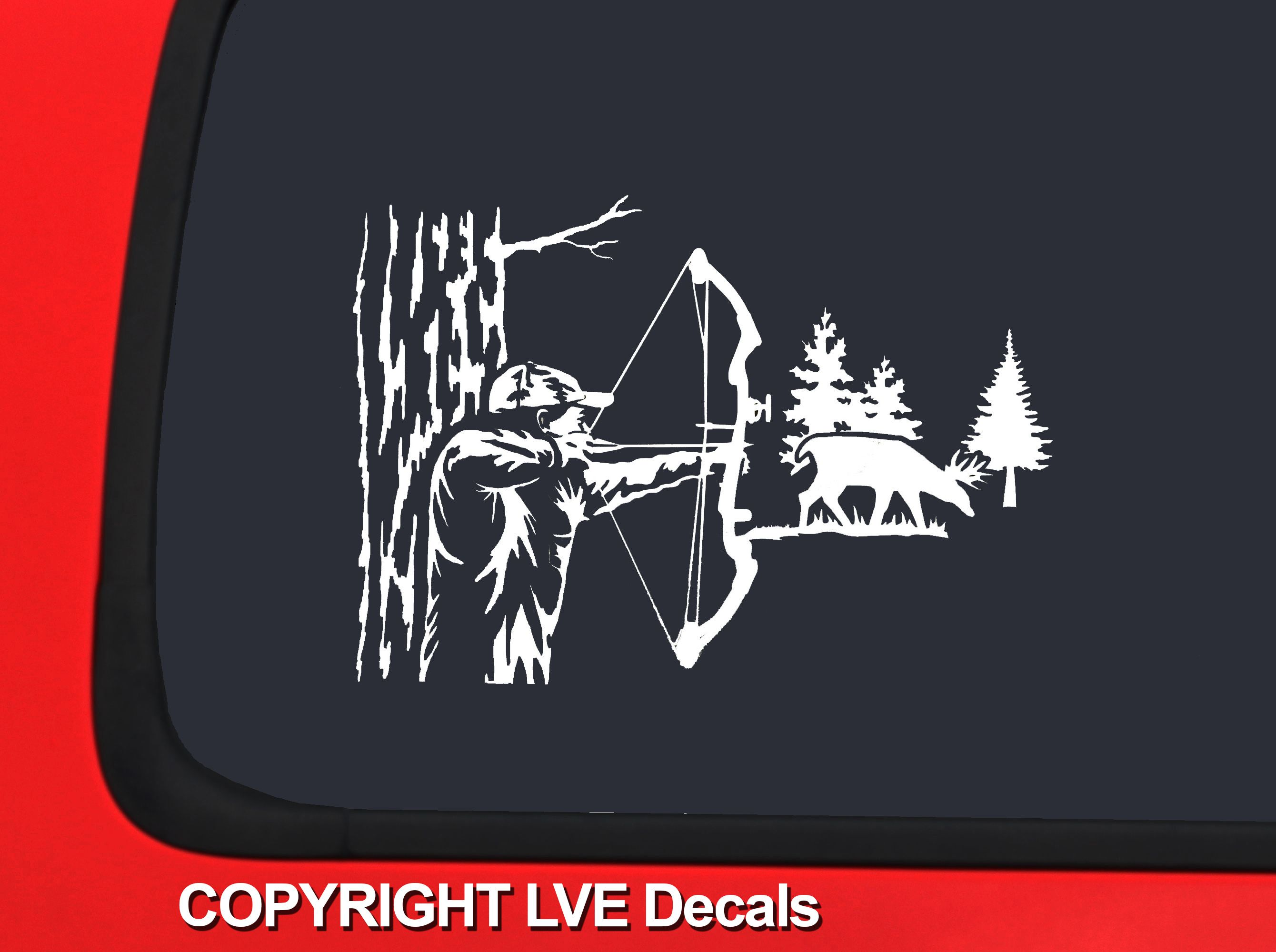 bow hunter Google Search * Deer Hunting Silhouettes