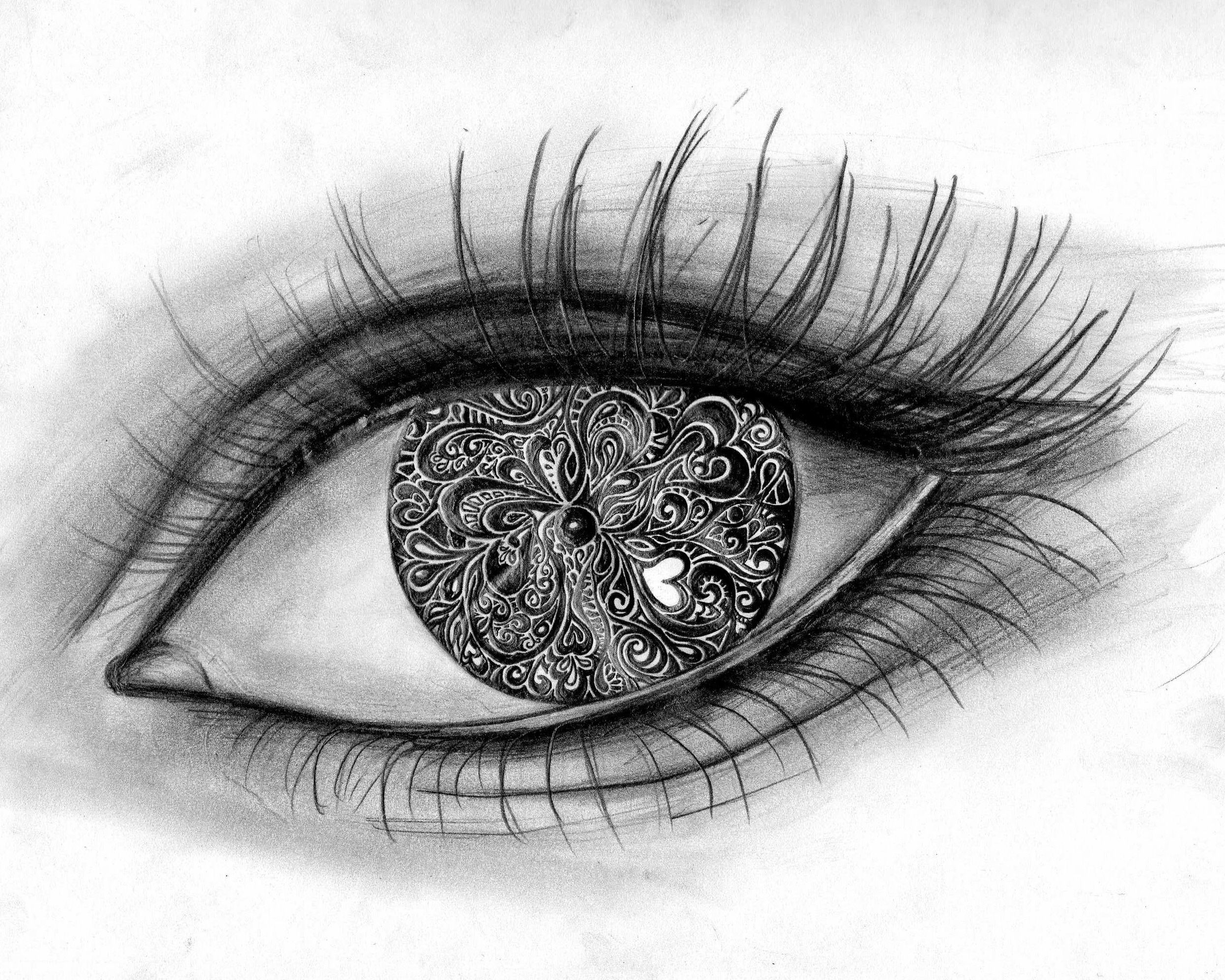 Cool Drawings Pics For Gt Cool Drawings Of Eyes Tumblr