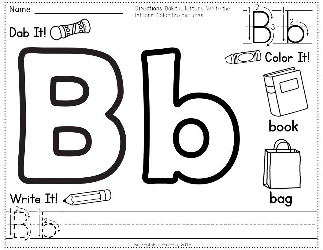 Alphabet Formation Practice Pages No Prep