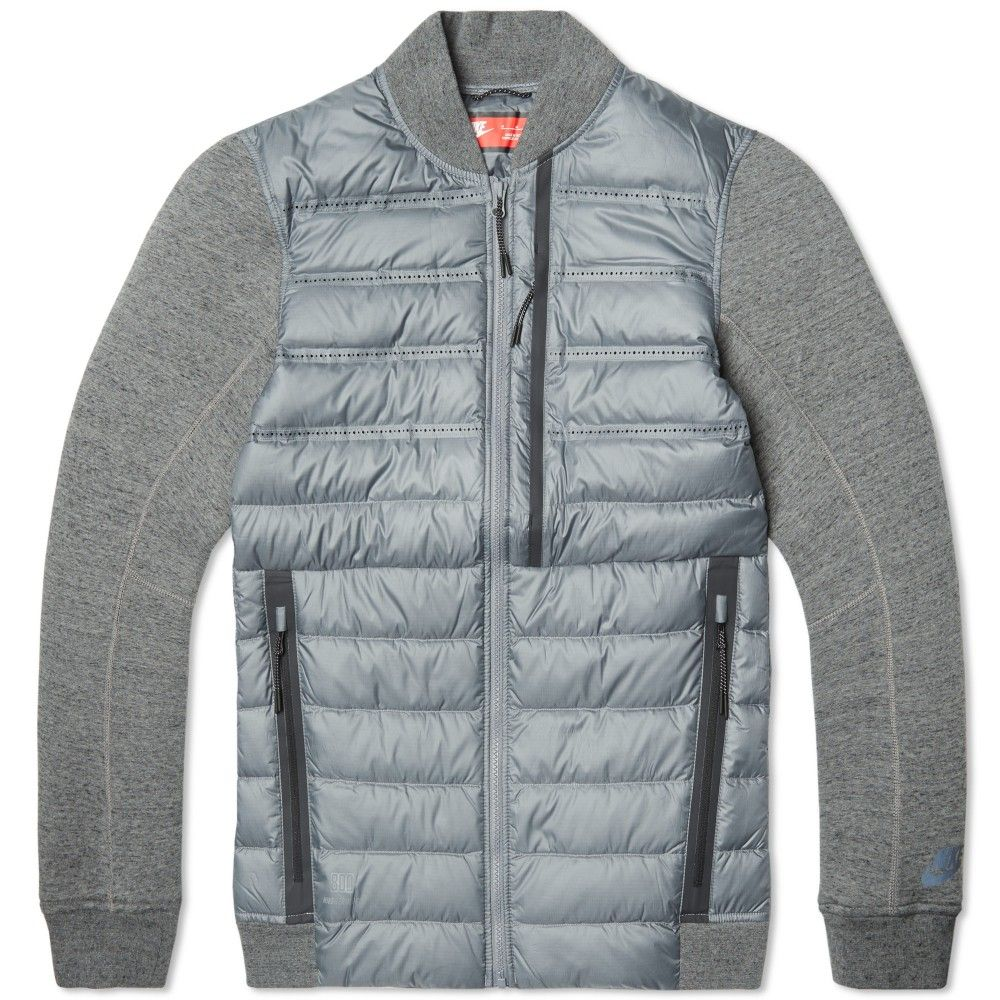 Nike Tech Fleece Aeroloft Bomber Jacket fashion details