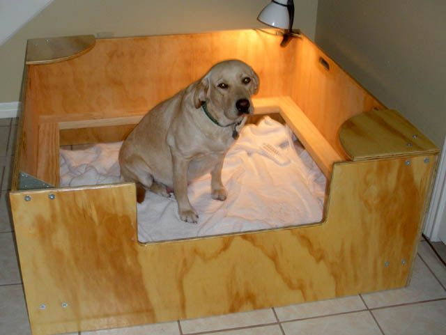 Whelping Box Construction Plans Puppies Pinterest