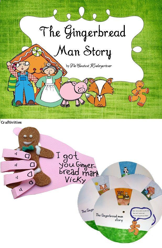 Gingerbread Man Story Social Studies PreK and