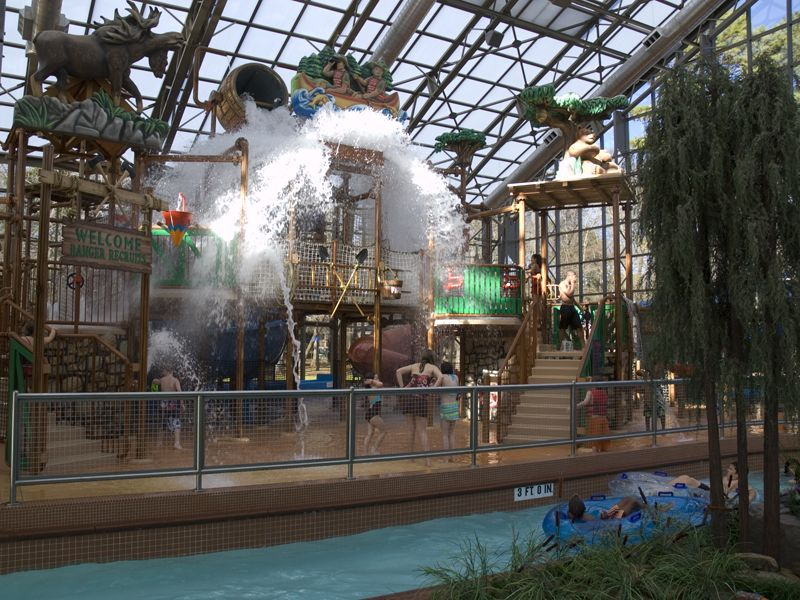 Water park fun for vacationers of every age group!