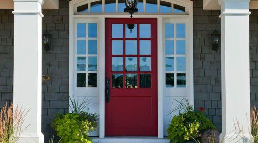 Benjamin Moore Front Door Paint S Pomegranate Af 295 Color