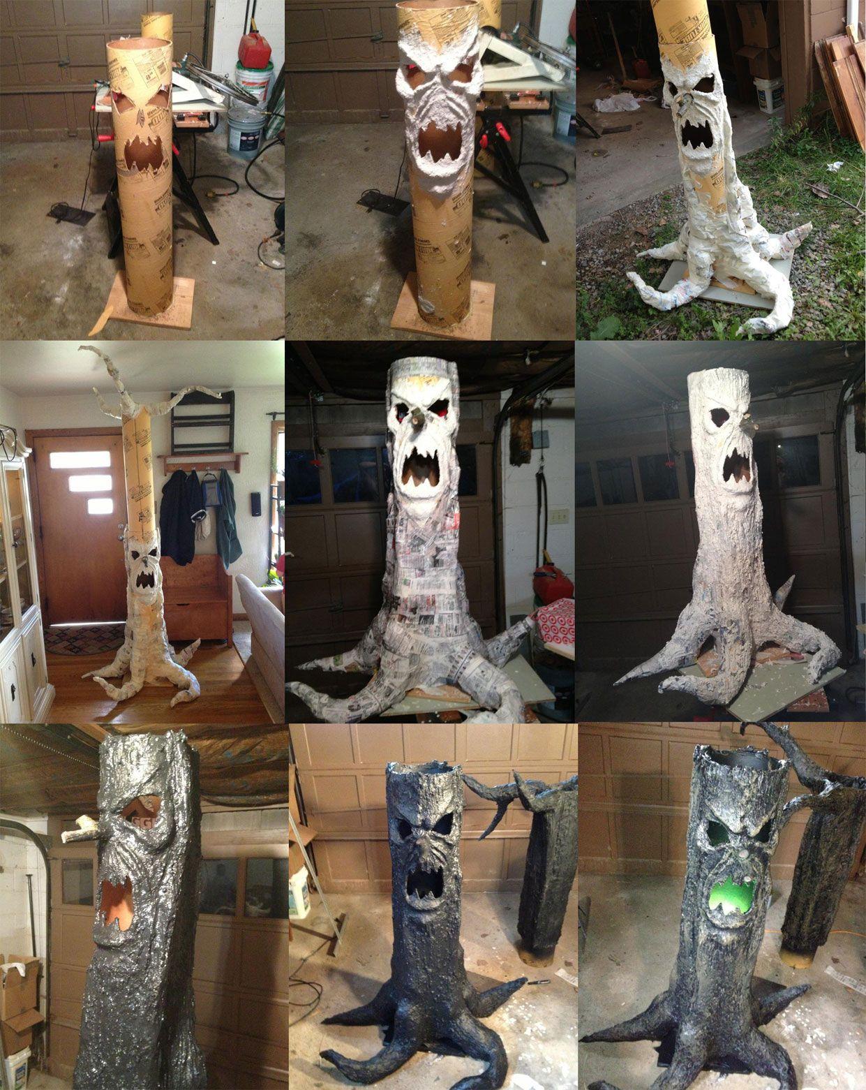 Scary Haunted Tree Prop Bwahahahahahaaaaa Spooky Old