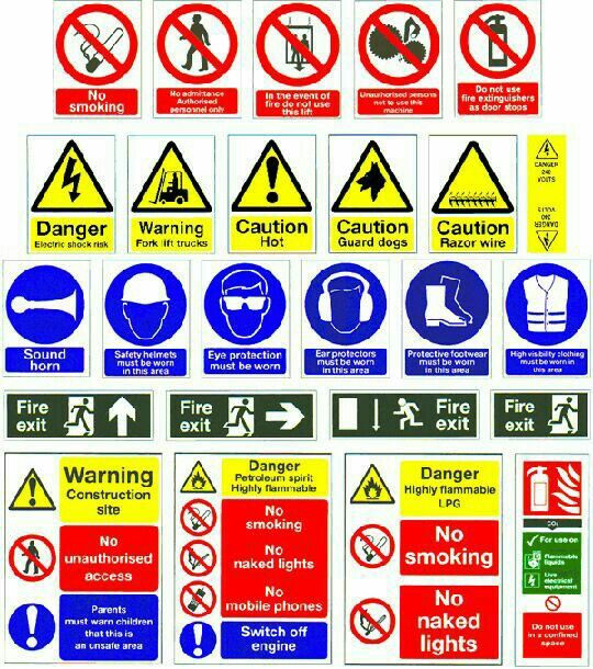 Learn your construction safety signs!! Wells Innovations