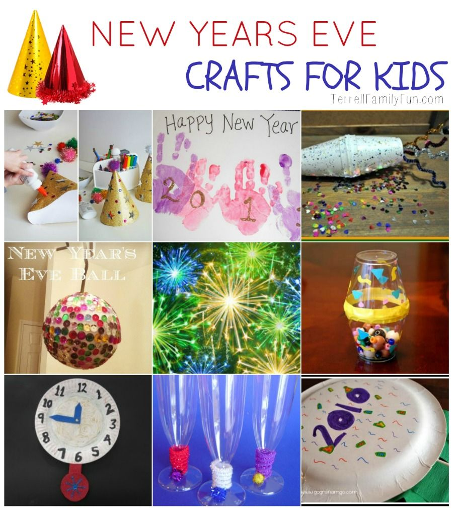 New Years Eve Crafts for Kids Craft, Holidays and