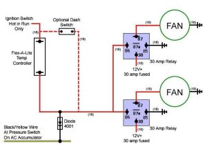 imperial electric fan Relay Wiring Diagram | Electric Fan