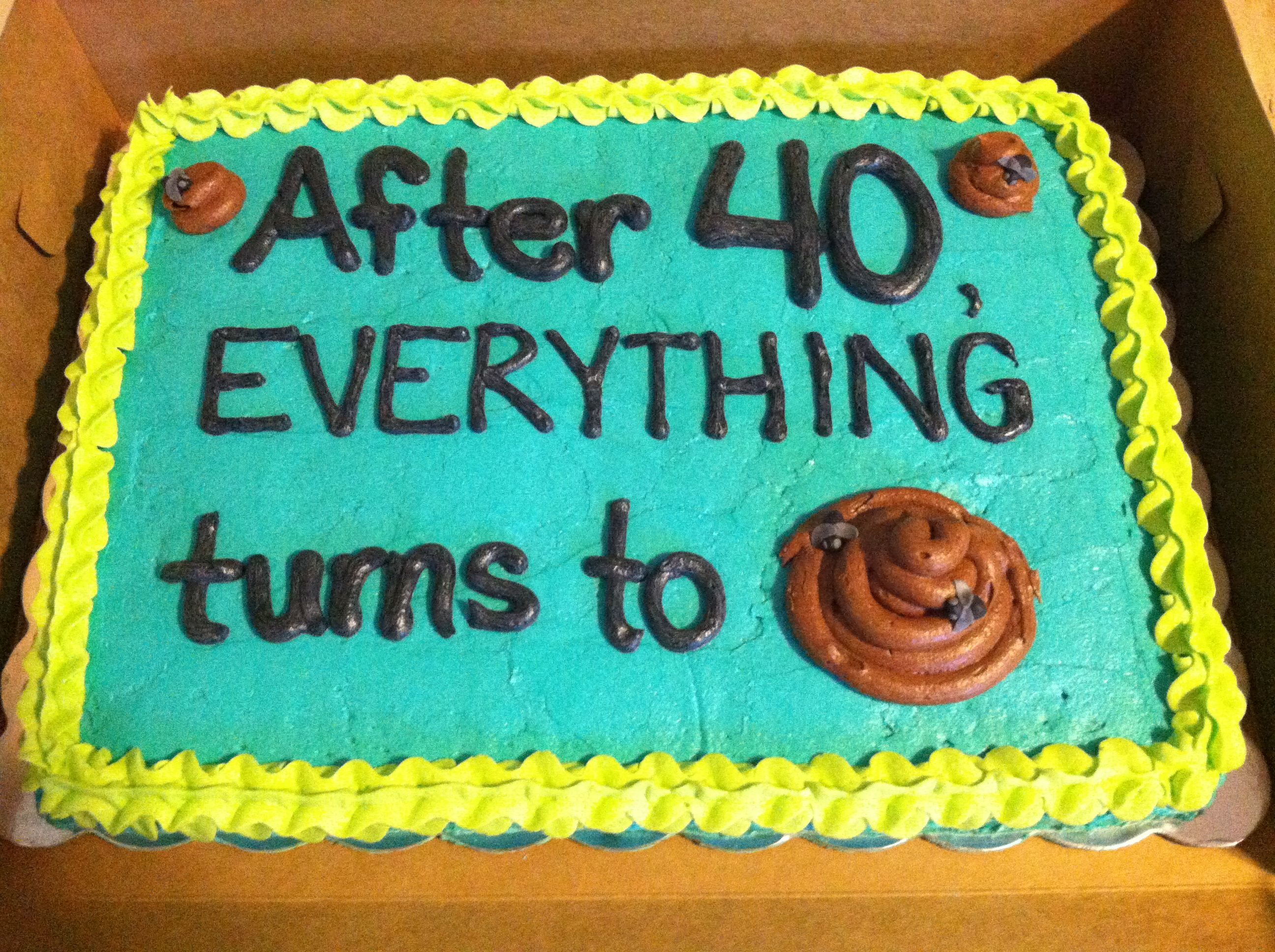 This would be easy to do 40th birthday Pinterest