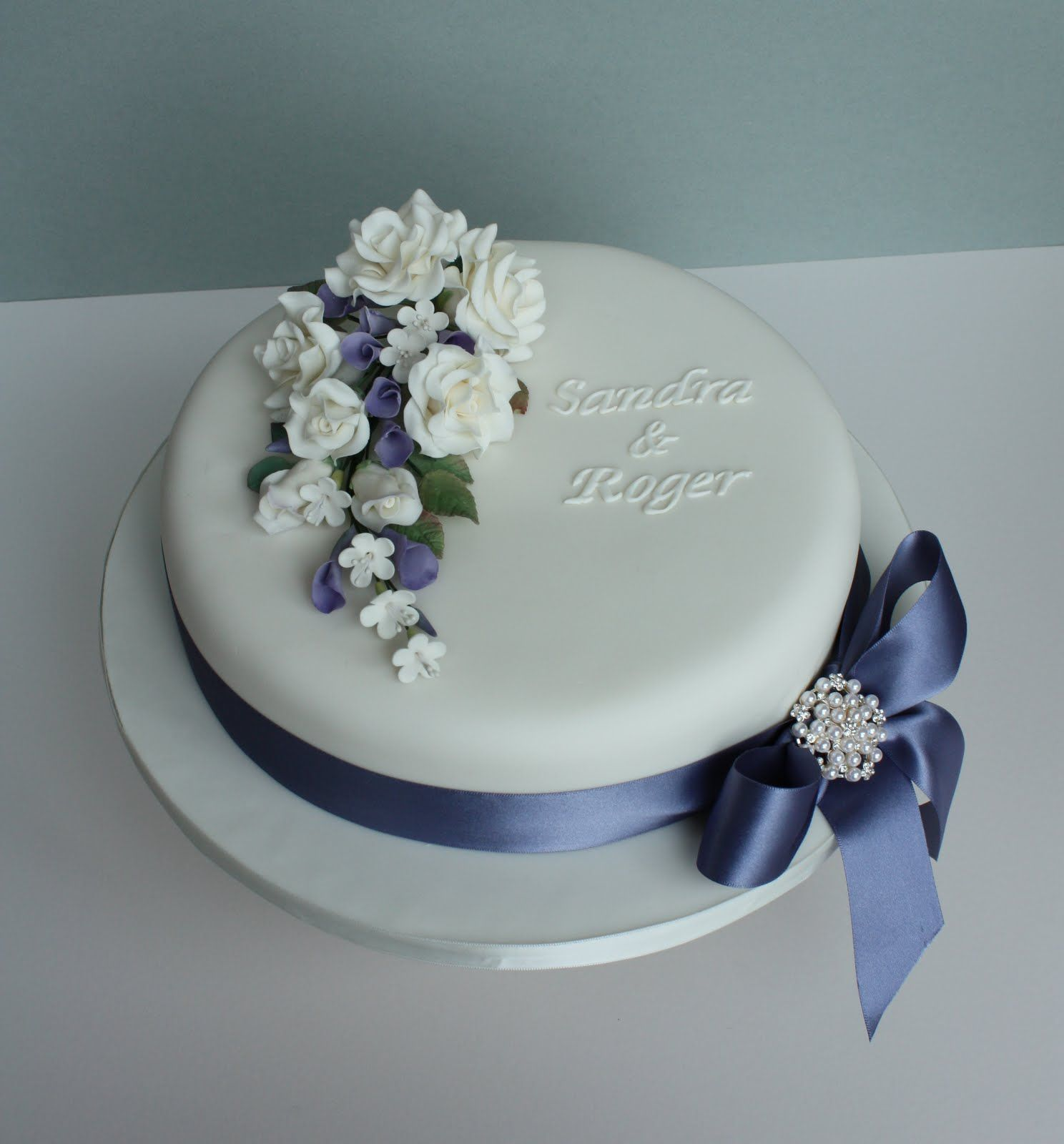 simple one tier cakes Google Search cake decorating