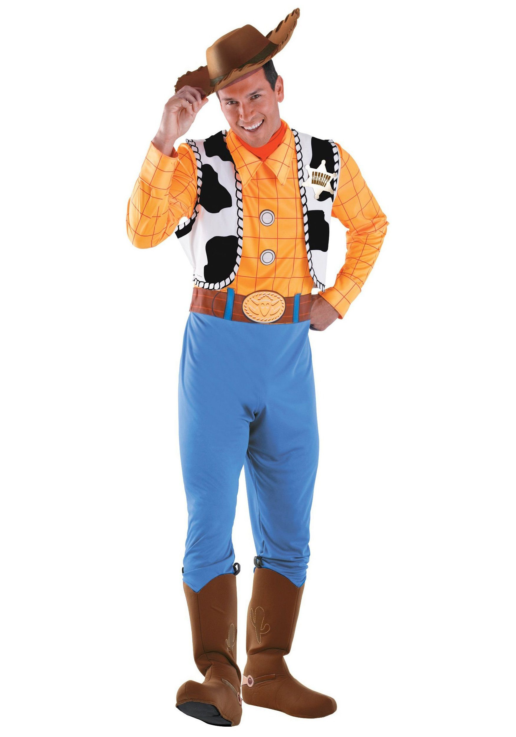 Toy Story Woody Costume Adult make an impression this