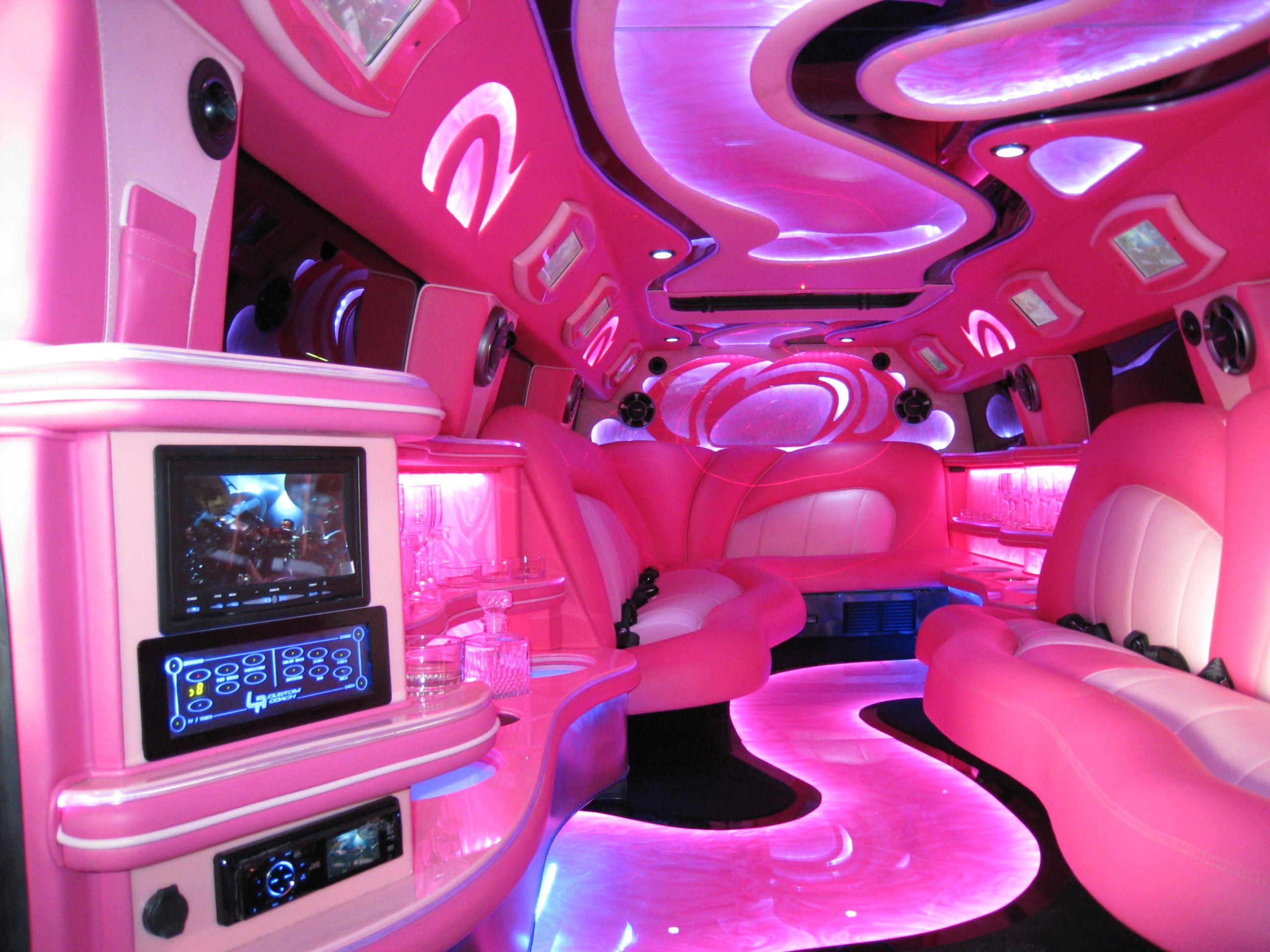 pink car interior Girly Girl Pinterest